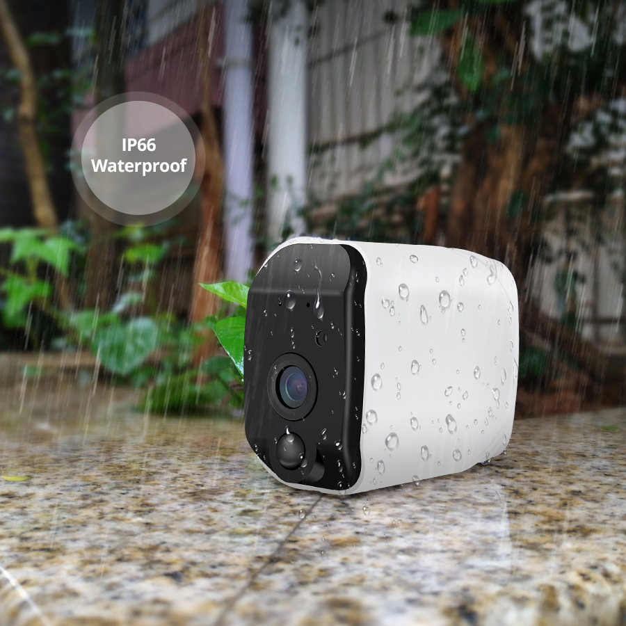 KERUI Wireless H.264 Outdoor 1080P Full HD Wide-angle Lens 2.4G WiFi  IP Camera Indoor Security Surveillance IR-CUT Camera