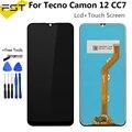 6,52 ''Полный ЖК-дисплей для Tecno Camon 12 CC7 ЖК-дисплей сенсорный экран сборка для Tecno Camon12 CC7 экран Полный Ремонт Запчасти + инструмент