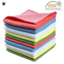 3 шт кухонные полотенца ткань для мытья посуды Сетчатое полотенце