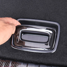 for MG HS 2018-2019 Trunk Hold-all Handle Decorative frame