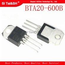 10 pçs/lote BTA20-600B BTA20-600 BTA20 600B 600 Triac 600V 20A