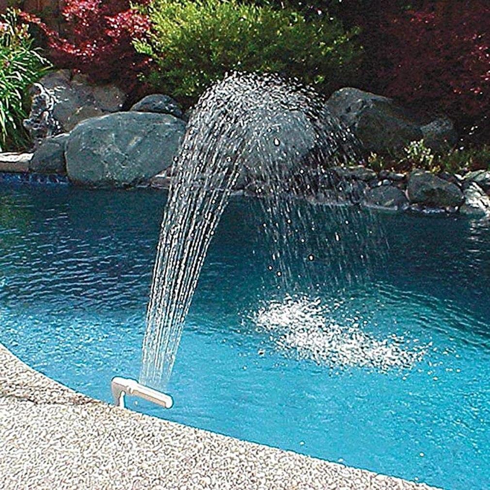 Плавательный бассейн маленький водопад фонтан регулируемый высота направление творческий маленький фонтан для плавательный бассейн