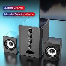 מחשב רמקולים קולנוע ביתי מערכת Caixa דה סום מחשב בס סאב Bluetooth רמקול מוסיקה Boombox מחשב שולחני Altavoces טלוויזיה