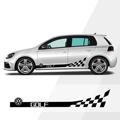 VOLKSWAGEN GOLF, боковая полоса, автомобильный стеллаж, правая-левая