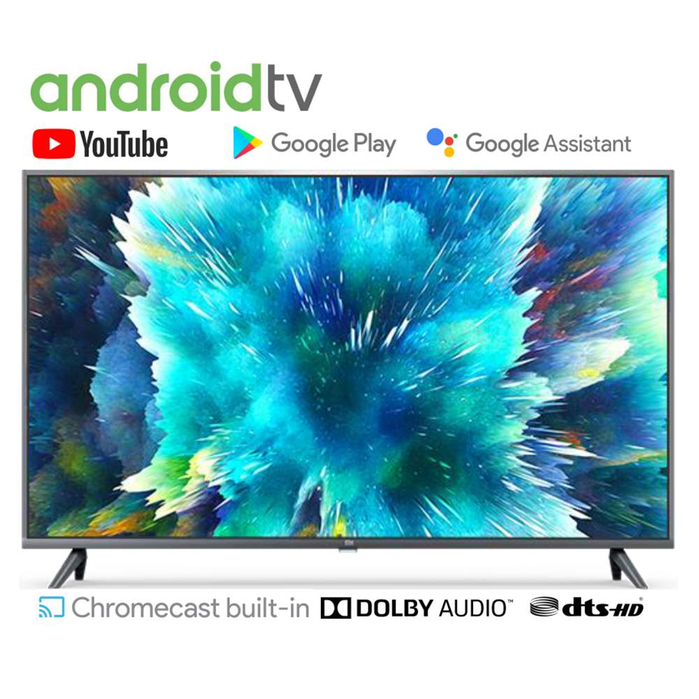 Xiaomi Mi TV 4S International Version 43 Inch 2GB RAM 8GB ROM Dolby AUDIO DTS-HD WIFI Android 9.0 4K UHD Smart TV Voice Control