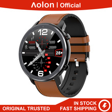 Aolon GTR Smart Watch ECG PPG HRV Heart Rate Full Round Touc