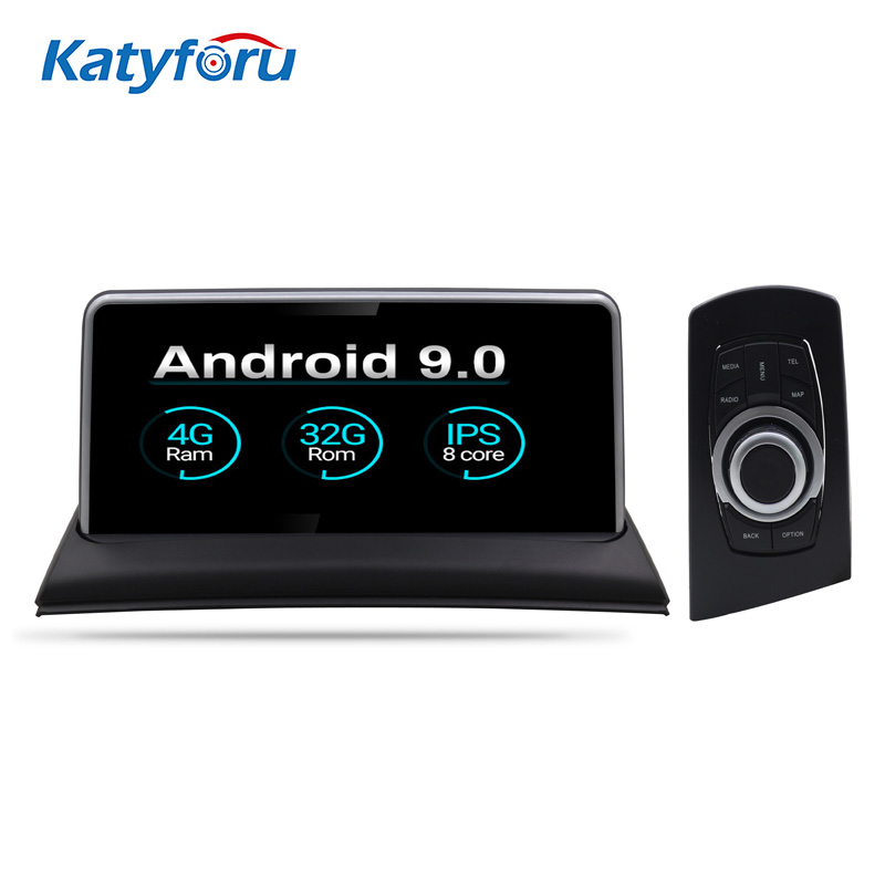 10.25Inch Android car radio gps for BMW 1 Series E87 2006-2011 with Samsung 8 Core 4G ram32G with knob steering wheel control image