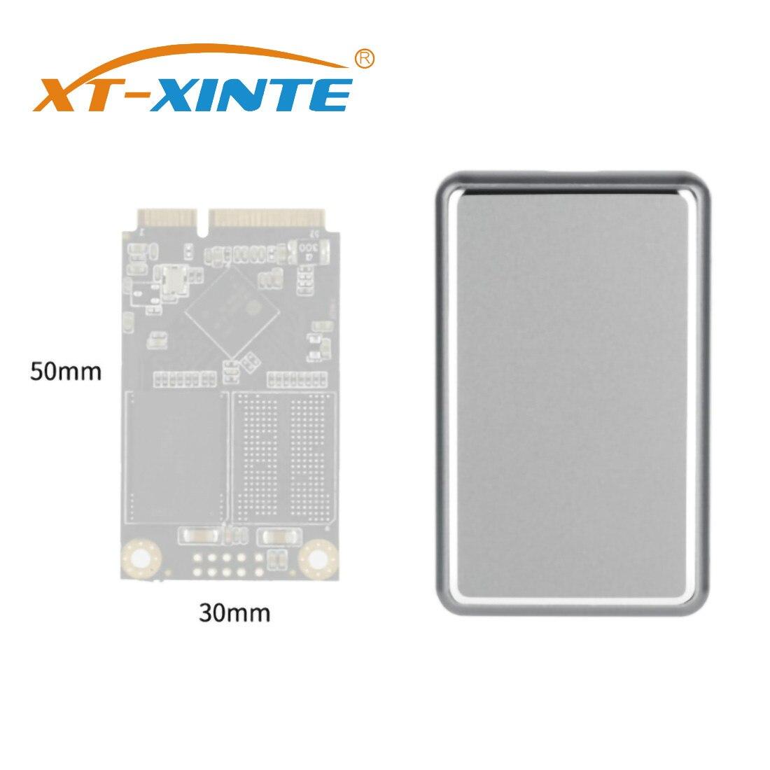 Mini MSATA Type-C SSD Enclosure M.2 M-Key USB3.1 10 Gbps High-Speed USB C Hard Drive Disk Case Support 1TB For Windows/Linux/Mac