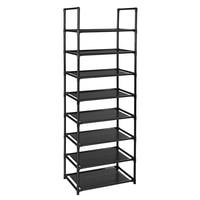 Multifunctional 8 Tiers Shoe Rack Sturdy Shoe Shelf Cabinet Large Stackable Shelves Holds Shelf for Shoe Book Home Storage Orga