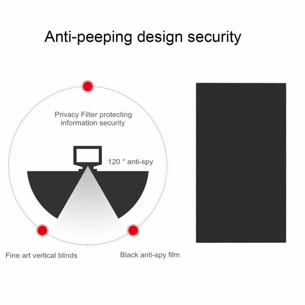 Профессиональный 11 дюймов Фильтр конфиденциальности Анти-шпион экраны защитная пленка 257,5 мм x 145 мм против подсматривания грязно-доказательство для 16:9 ноутбук