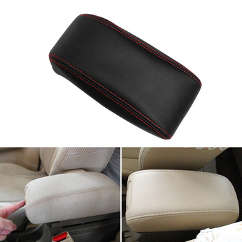 Car-styling Interior Center Armrest Box Leather Cover Proective Trim For Hyundai Tucson 2006  2007 2008 2009 2010 2011 2012 2013