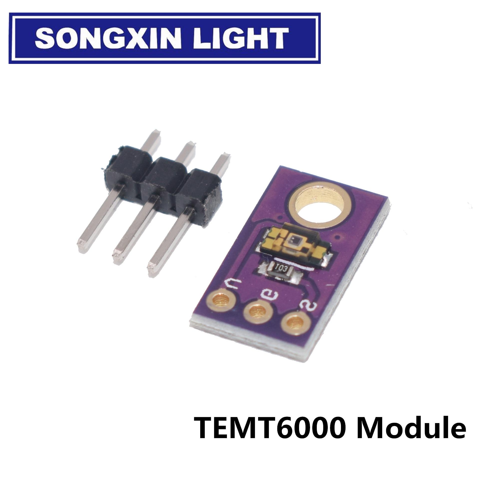 Sensor de luz ambiental TEMT6000 An, simula el módulo de intensidad de la luz, sensor de luz Visible
