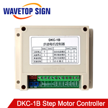 WaveTopSign Industrial Type DKC 1B Stepper Motor Controller Single Axis Pulse Generator Servo Motor PLC Speed Regulation