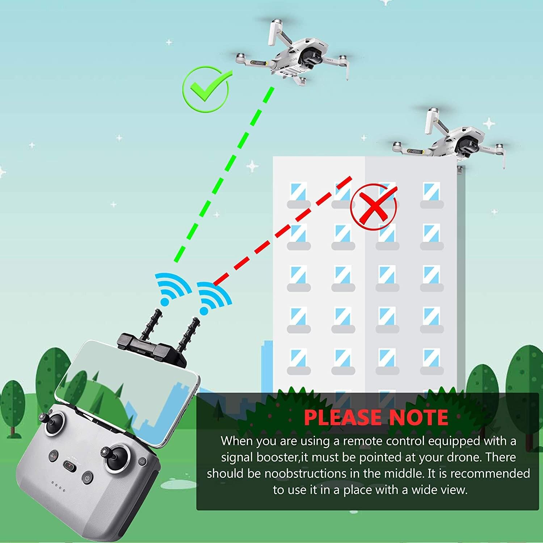 Усилитель сигнала startrc dji mavic mini 2 антенна yagi пульт