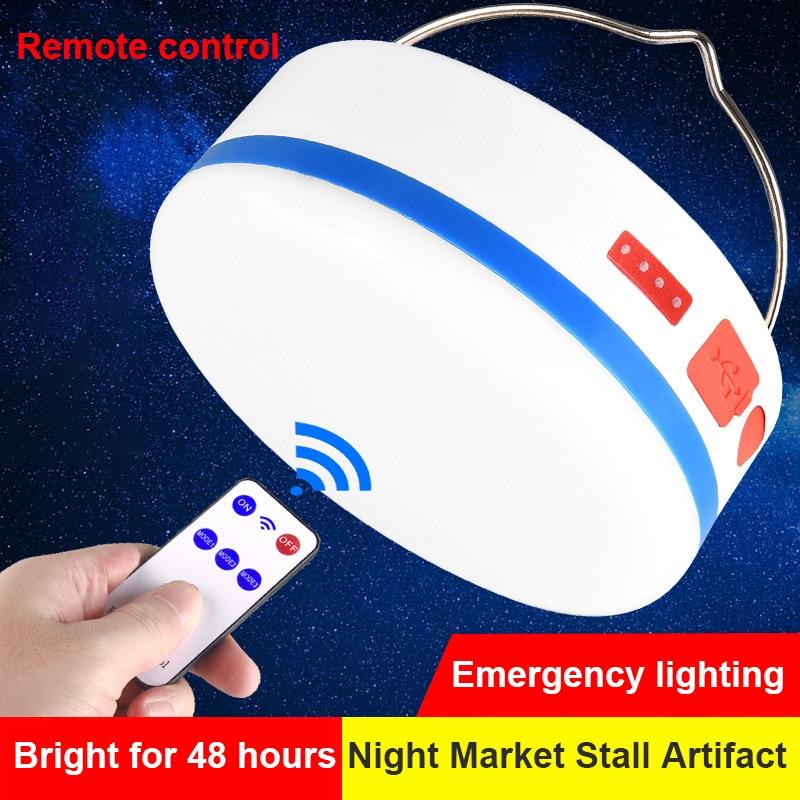 Новый открытый фонарь лампа солнечный пульт управление водонепроницаемый кемпинг лампа солнечный USB зарядка лампа лампа палатка лампа светодиод аварийный лампа