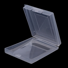 20 pcs Clear Plastic Game Cartridge Case Dust Cover For Nintendo Game Boy Color GBC