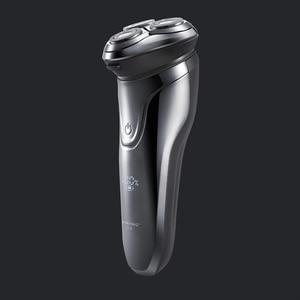 Image 2 - Soocas Pinjing 무선 3D 스마트 USB 충전 전기 면도기 면도기 IPX7 방수 차단 보호