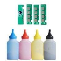 Refill toner Powder + 4 chip for samsung CLT-404S 404S toner cartridge SL- C430W C430 C432 C480W FW C482  C483 FW Printer