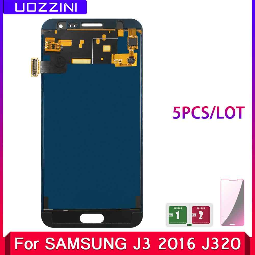 5 Pcs/Lot 100% Tested LCD Replacement For Samsung Galaxy J3 2016 J320 J320F J320H LCD Display Touch Screen Digitizer Assembly