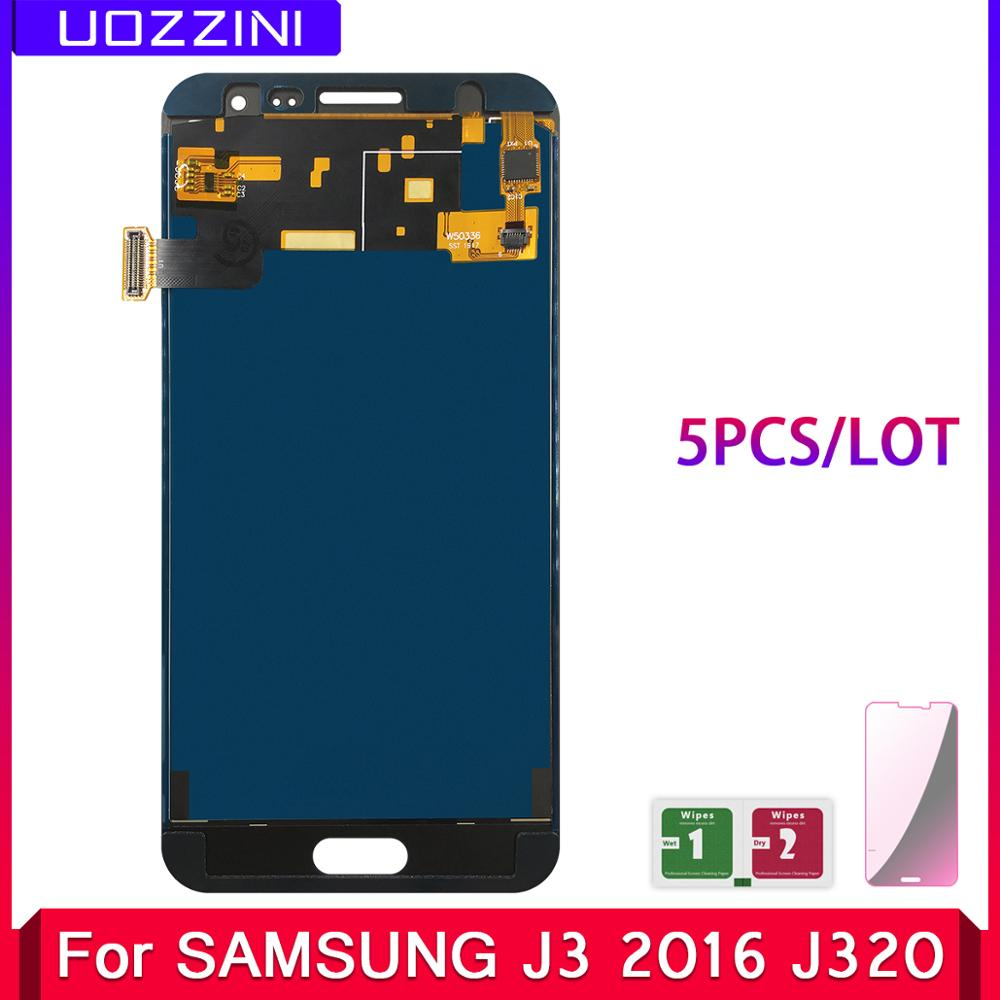 5 Pcs/Lot 100% Tested LCD Replacement For Samsung Galaxy J3 2016 J320 J320F J320H LCD Display Touch Screen Digitizer Assembly|Mobile Phone LCD Screens| |  - title=