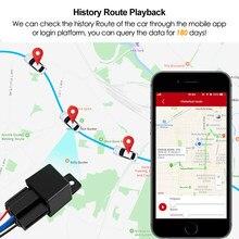 Rastreador GPS C13 con relé antirrobo, localizador GSM con Control remoto, monitoreo antirrobo, actualizado, LK720, última versión