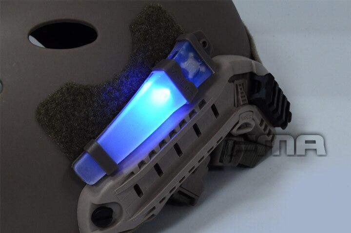 de poupança de vida capacete rápido velcro luz