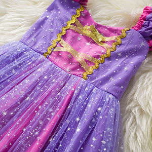 Image 3 - Toddler Baby Girls Rapunzel Sofia Princess Costume Halloween Cosplay Clothes Toddler Party Role play Kids Fancy Dresses For Girl