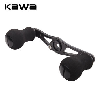 KAWA Fishing Reel Handle For Bait Casting Reels Assembly Hole 8x5mm Length is 100mm Alloy With Eva Knob Accessory