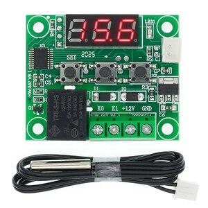 Image 3 - 20PCS W1209 DC 12V חום מגניב טמפ מתג בקרת טמפרטורת בקר טמפרטורת מדחום thermo בקר