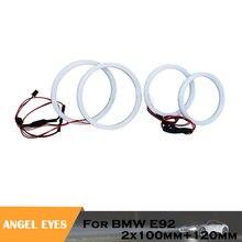 1 комплект белые хлопковые фасветильник «глаза ангела» для bmw