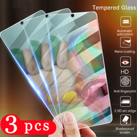 3Pcs for Samsung Galaxy A01 A11 A21 A21S A31 A41 A51 A71 A71S A91 A50 A50S protective film tempered glass phone screen protector