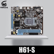 Placa base de escritorio VEINEDA Original H61-S enchufe LGA 1155 para Intel Core i3 i5 i7 DDR3 memoria 16G uATX H61 PC placa base(China)