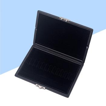 Obój Reed Box drewniane PU Leather Cover Reed pojemnik do przechowywania schowek na obój stroiki CA12 (czarny) tanie i dobre opinie CN (pochodzenie)