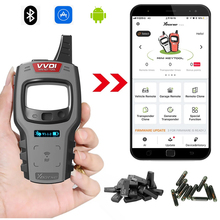 Global Versie Xhorse Vvdi Mini Key Tool Auto Key Programmeur Ondersteuning Super Clone Chip Ios Android Bluetooth Vvdi Key Tool