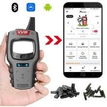Versión Global Xhorse VVDI Mini herramienta clave auto programador clave apoyo Super clon Chip IOS Android con Bluetooth llave VVDI herramienta