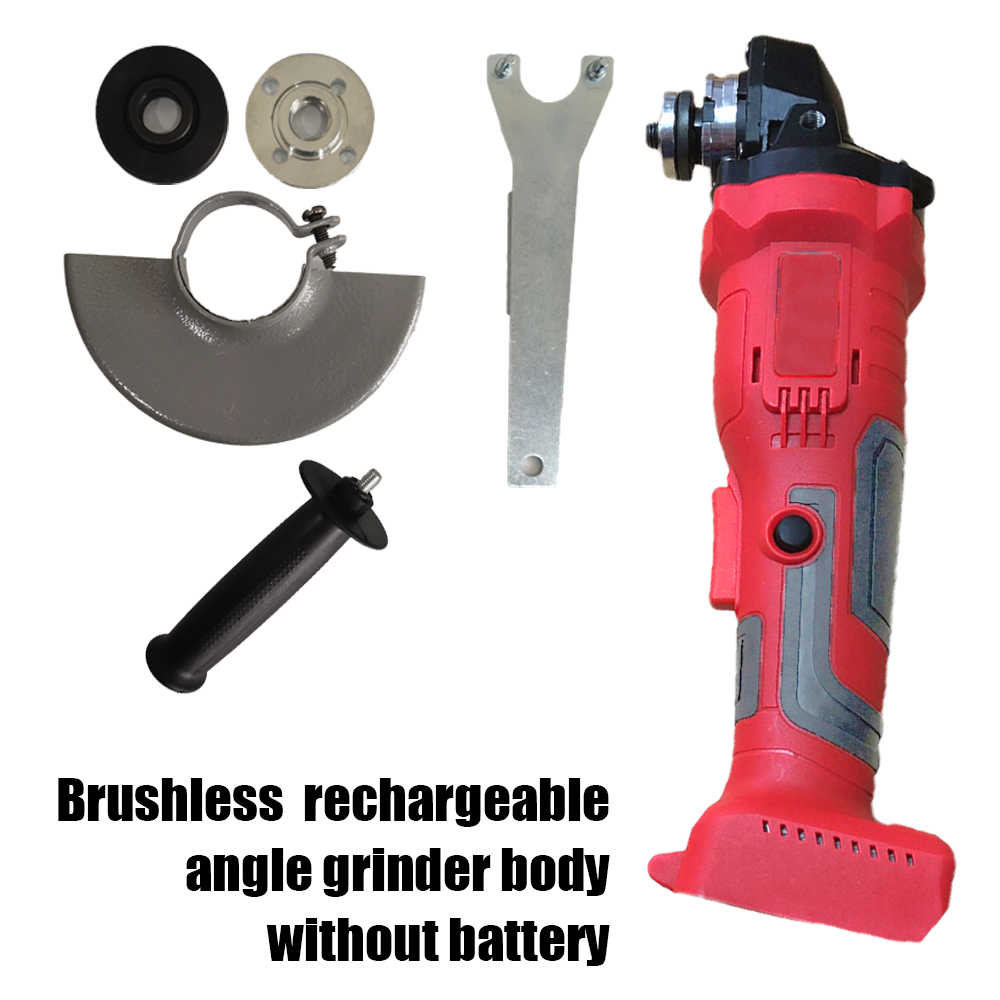 100mm 18V Brushless Wireless Impact Angle Grinder Head For MAKITA 18 Electric Parkside Tools Without Battery