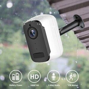 Image 1 - 1080P HD WiFi IP מצלמה חיצוני אבטחה אלחוטית סוללה תשלום מצלמה אודיו מעקב CCTV PIR זיהוי תנועה Camhi פרו
