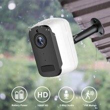 Camhi Pro caméra de Surveillance extérieure IP WiFi HD 1080P, dispositif de sécurité sans fil, avec batterie rechargeable, Audio, détection de mouvement PIR