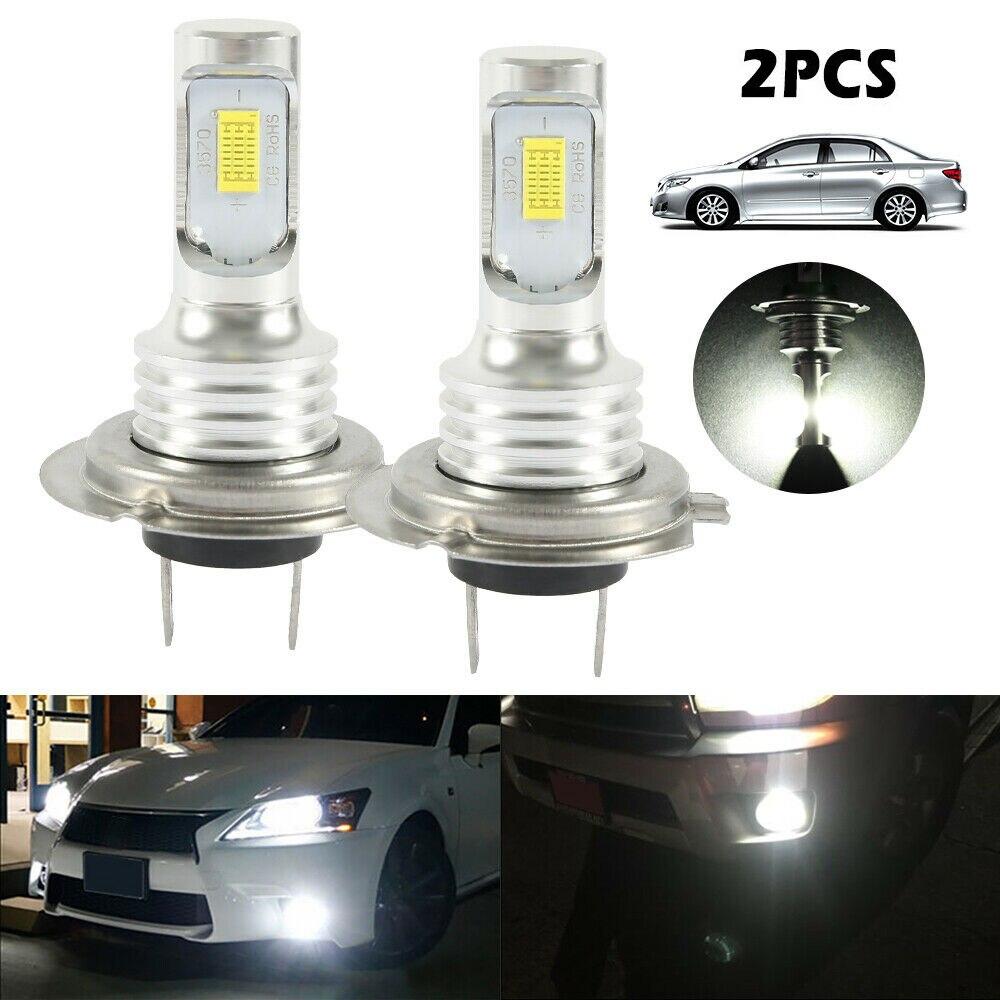 2pc h7 conduziu a lampada do farol do carro lampada do farol para carros bulbs12v 24v