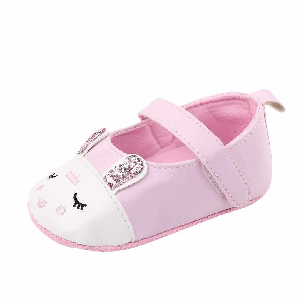Kawaii Sveglio Del Fiore Del Fumetto Comfort Ragazze Sveglie Del Bambino Appena Nato Infantile Del Fumetto Floreale casual Primo Camminatore Del Bambino Scarpe Per Bambini Scarpe