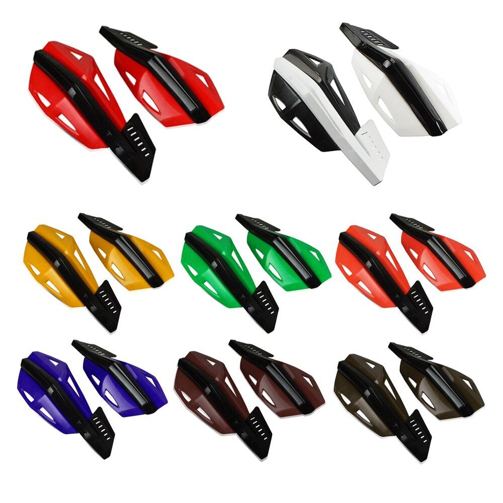 פנסים מופעלי סוללות עבור קוואסאקי KX65 KX85 KX125 KX250 KX250F KX450F אופני שטח עבור KX 65 85 250F 450F F כידון יד משמרות Handguard מגן (2)