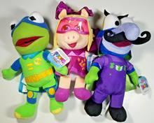 3 muppet Младенцы-супер сказочная свинья, Froginizer Kermit, Dr Meanzo Gonzo