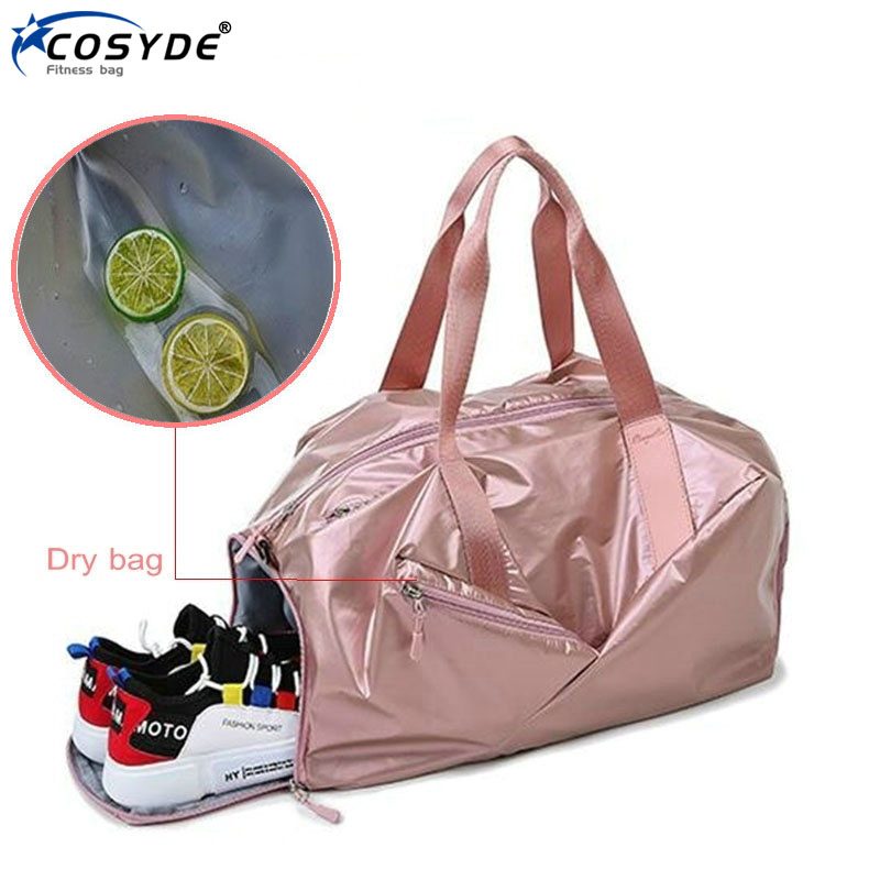 Outdoor Men Gym Bag With Shoes Compartment Travel Luggage Bags Waterproof Women Fitness Bag New Gymtas Sac De Sport Duffel Bag