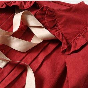 Image 5 - בנות שמלת 2020 סתיו חדש ילדי כותנה שמלת תינוק נסיכת שמלת כותנה פעוט שמלות עבור בנות טמפרמנט קשת, #5314