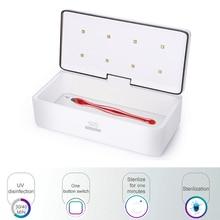 УФ стерилизатор, коробка для косметических инструментов, стерилизатор, коробка для хранения, переносная дезинфекционная коробка для салонных инструментов для дизайна ногтей