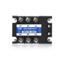 Solid state relay MGR-3 032 38100Z SSR-100DA 100A 380VAC 3~32VDC DC-AC Three phase solid state relay meigeer 100a ssr 100da three phase solid state relay jgx 032 mgr 3 032 38100z