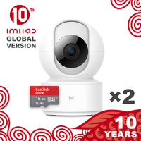 【Global version】 mijia IMILAB IP камера 016 2 шт. Xiaomi Mi Home AppWiFi камера безопасности CCTV видеоняня 1080P наблюдение H.265