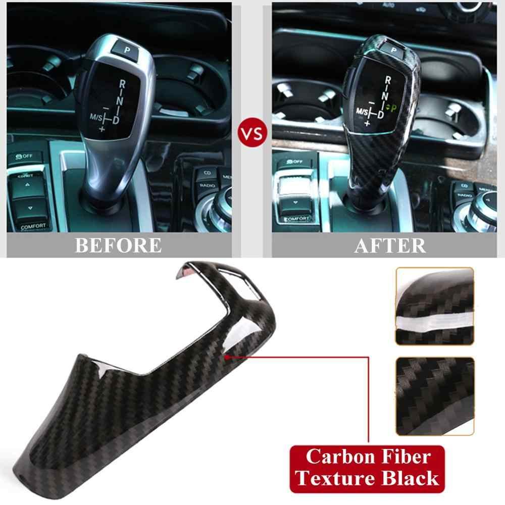 Auto intérieur ABS changement de vitesse couverture décoration autocollants pour BMW E60 (2008-2010) E70 E71 (2008-2013) X5 X6 accessoires de style de voiture