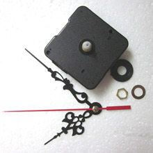 FREE SHIPPING  Quartz Clock Movement Kit Spindle Mechanism shaft 12mm with hands Wholesale BZ001