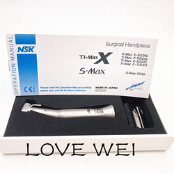 Low Speed Dental Handpiece 20: 1 Reduction Surgery Implant Handpiece SG20